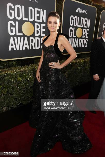 76th ANNUAL GOLDEN GLOBE AWARDS Pictured Penelope Cruz arrives to the 76th Annual Golden Globe Awards held at the Beverly Hilton Hotel on January 6...