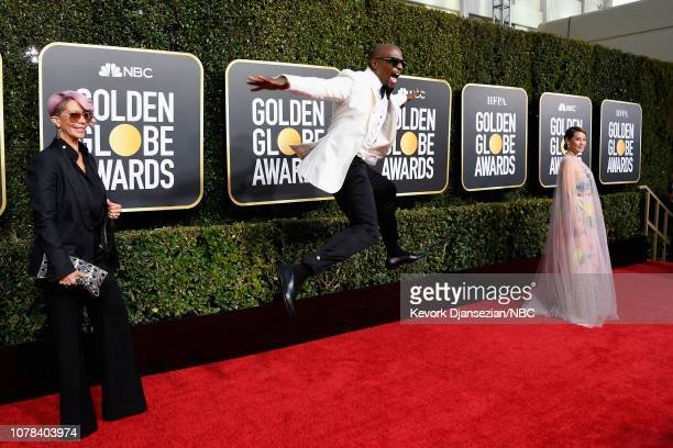 76th ANNUAL GOLDEN GLOBE AWARDS Pictured Rebecca KingCrews Terry Crews and Lucy Liu arrive to the 76th Annual Golden Globe Awards held at the Beverly...