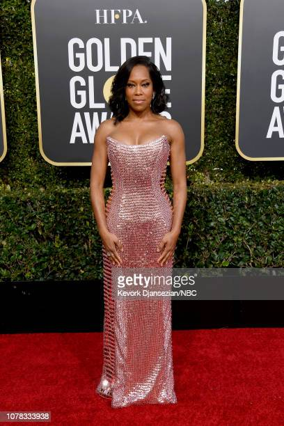 76th ANNUAL GOLDEN GLOBE AWARDS Pictured Regina King arrives to the 76th Annual Golden Globe Awards held at the Beverly Hilton Hotel on January 6 2019