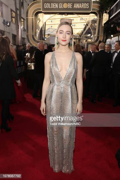 76th ANNUAL GOLDEN GLOBE AWARDS Pictured Saoirse Ronan arrives to the 76th Annual Golden Globe Awards held at the Beverly Hilton Hotel on January 6...
