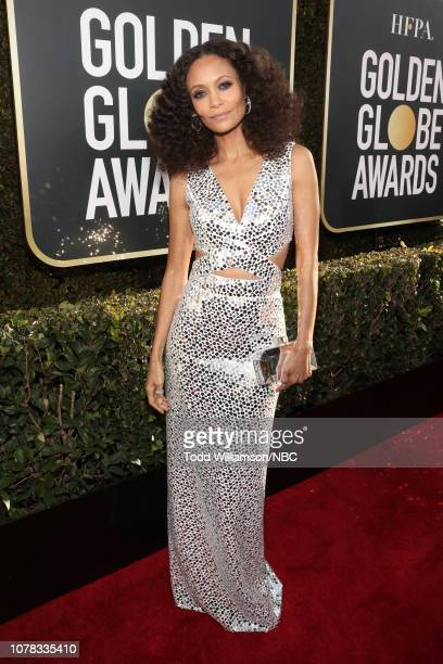 76th ANNUAL GOLDEN GLOBE AWARDS Pictured Thandie Newton arrive to the 76th Annual Golden Globe Awards held at the Beverly Hilton Hotel on January 6...