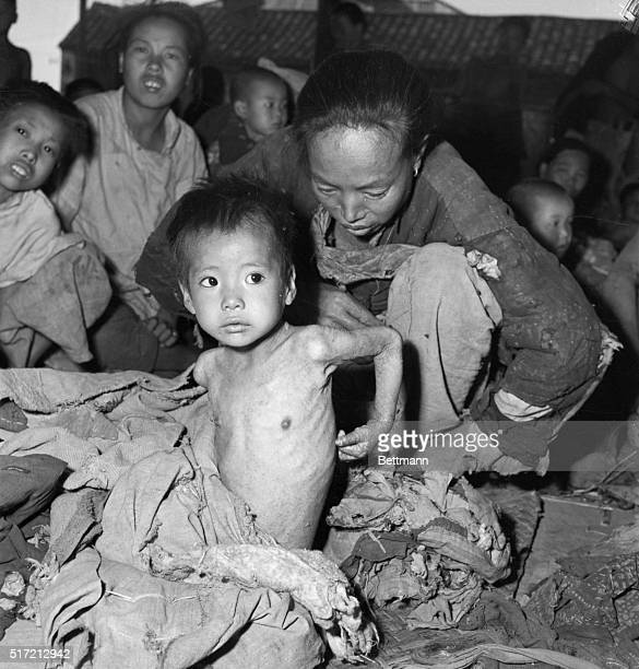 7/7/1946Chinkiang China Startling photographic evidence that the United Nations Relief and Rehabilitation supplies are being used as a wedge in...