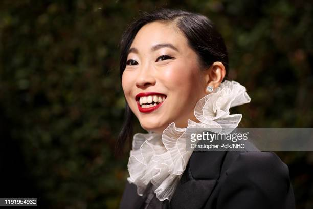 77th ANNUAL GOLDEN GLOBE AWARDS Pictured Awkwafina arrives to the 77th Annual Golden Globe Awards held at the Beverly Hilton Hotel on January 5 2020