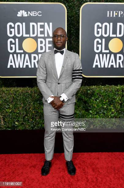 77th ANNUAL GOLDEN GLOBE AWARDS Pictured Barry Jenkins arrives to the 77th Annual Golden Globe Awards held at the Beverly Hilton Hotel on January 5...