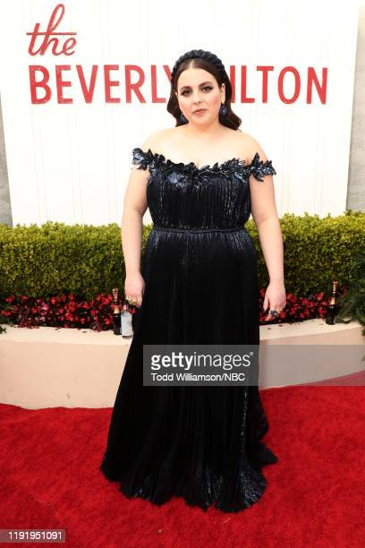 77th ANNUAL GOLDEN GLOBE AWARDS -- Pictured: Beanie Feldstein arrives to the 77th Annual Golden Globe Awards held at the Beverly Hilton Hotel on...