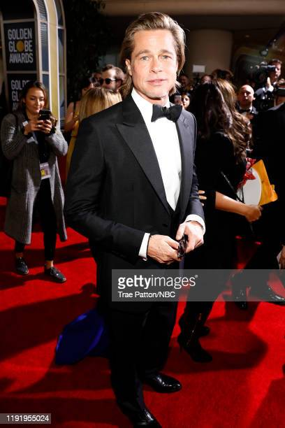 77th ANNUAL GOLDEN GLOBE AWARDS Pictured Brad Pitt arrives to the 77th Annual Golden Globe Awards held at the Beverly Hilton Hotel on January 5 2020