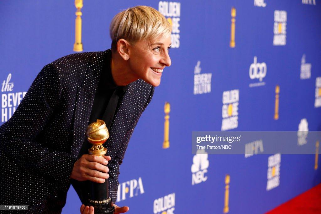"NBC's ""77th Annual Golden Globe Awards"" - Press Room : News Photo"