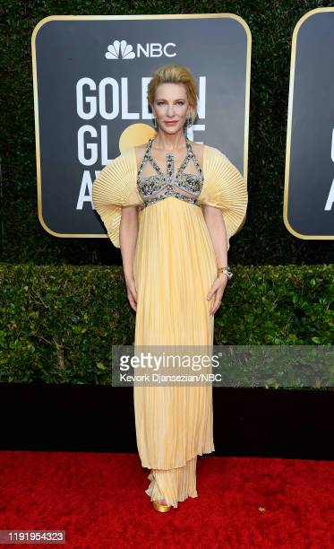 77th ANNUAL GOLDEN GLOBE AWARDS -- Pictured: Cate Blanchett arrives to the 77th Annual Golden Globe Awards held at the Beverly Hilton Hotel on...