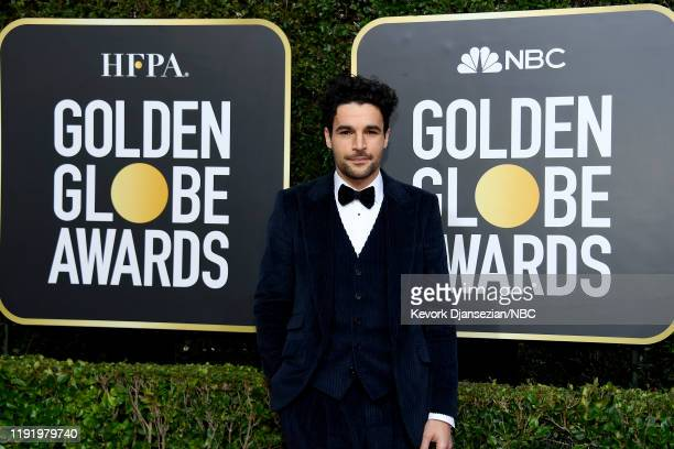 77th ANNUAL GOLDEN GLOBE AWARDS Pictured Christopher Abbott arrives to the 77th Annual Golden Globe Awards held at the Beverly Hilton Hotel on...
