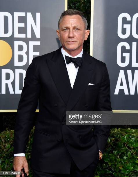 77th ANNUAL GOLDEN GLOBE AWARDS -- Pictured: Daniel Craig arrives to the 77th Annual Golden Globe Awards held at the Beverly Hilton Hotel on January...