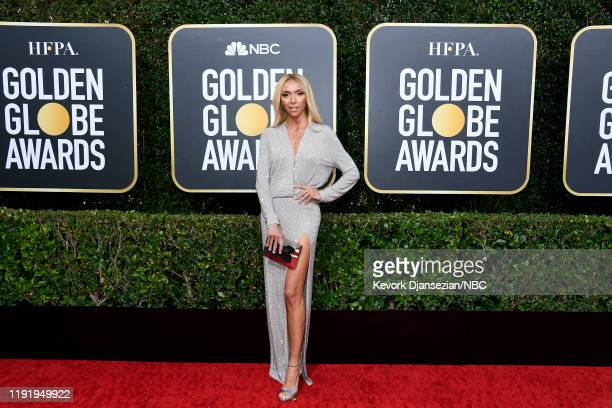 77th ANNUAL GOLDEN GLOBE AWARDS -- Pictured: Giuliana Rancic arrives to the 77th Annual Golden Globe Awards held at the Beverly Hilton Hotel on...