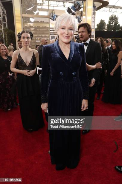 77th ANNUAL GOLDEN GLOBE AWARDS -- Pictured: Glenn Close arrives to the 77th Annual Golden Globe Awards held at the Beverly Hilton Hotel on January...