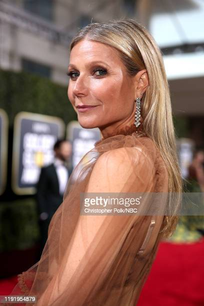 77th ANNUAL GOLDEN GLOBE AWARDS -- Pictured: Gwyneth Paltrow arrives to the 77th Annual Golden Globe Awards held at the Beverly Hilton Hotel on...