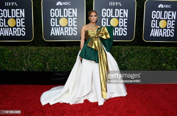 77th ANNUAL GOLDEN GLOBE AWARDS Pictured Jennifer Lopez arrives to the 77th Annual Golden Globe Awards held at the Beverly Hilton Hotel on January 5...