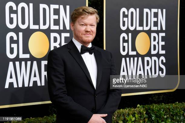 77th ANNUAL GOLDEN GLOBE AWARDS -- Pictured: Jesse Plemons arrives to the 77th Annual Golden Globe Awards held at the Beverly Hilton Hotel on January...