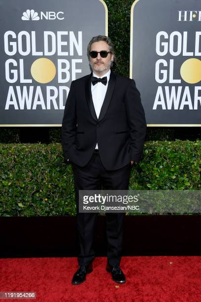 77th ANNUAL GOLDEN GLOBE AWARDS Pictured Joaquin Phoenix arrives to the 77th Annual Golden Globe Awards held at the Beverly Hilton Hotel on January 5...