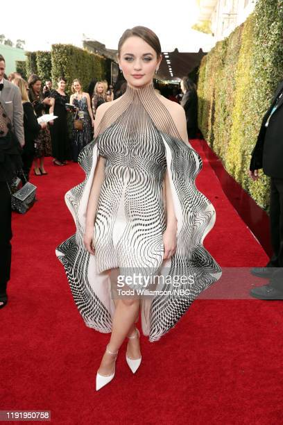 77th ANNUAL GOLDEN GLOBE AWARDS Pictured Joey King arrives to the 77th Annual Golden Globe Awards held at the Beverly Hilton Hotel on January 5 2020