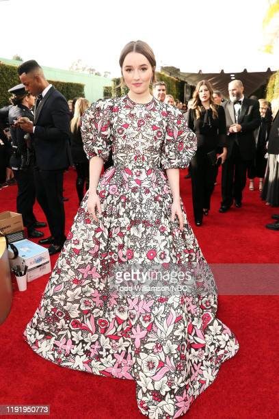 77th ANNUAL GOLDEN GLOBE AWARDS -- Pictured: Kaitlyn Dever arrives to the 77th Annual Golden Globe Awards held at the Beverly Hilton Hotel on January...