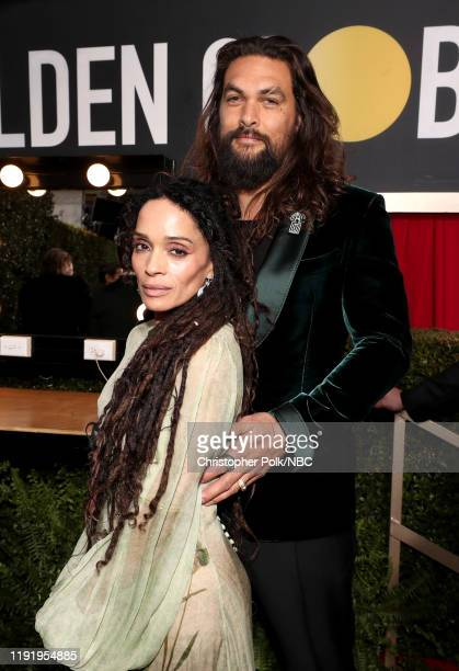 77th ANNUAL GOLDEN GLOBE AWARDS Pictured Lisa Bonet and Jason Momoa arrive to the 77th Annual Golden Globe Awards held at the Beverly Hilton Hotel on...