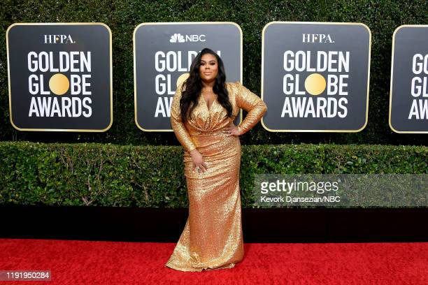 77th ANNUAL GOLDEN GLOBE AWARDS Pictured Nina Parker arrives to the 77th Annual Golden Globe Awards held at the Beverly Hilton Hotel on January 5 2020