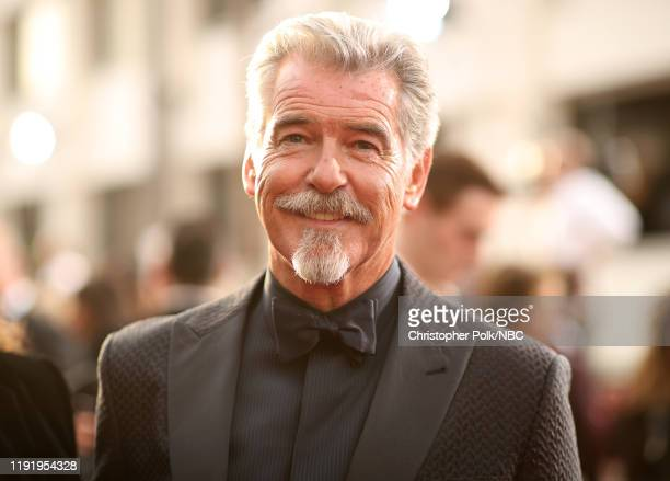 77th ANNUAL GOLDEN GLOBE AWARDS Pictured Pierce Brosnan arrives to the 77th Annual Golden Globe Awards held at the Beverly Hilton Hotel on January 5...