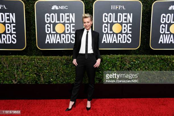 77th ANNUAL GOLDEN GLOBE AWARDS Pictured Portia de Rossi arrives to the 77th Annual Golden Globe Awards held at the Beverly Hilton Hotel on January 5...
