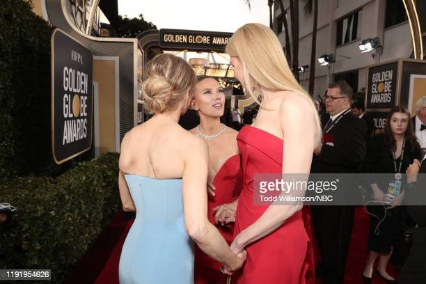 77th ANNUAL GOLDEN GLOBE AWARDS -- Pictured: Renée Zellweger, Scarlett Johansson, and Nicole Kidman arrive to the 77th Annual Golden Globe Awards...