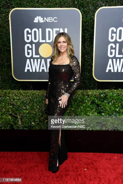 77th ANNUAL GOLDEN GLOBE AWARDS Pictured Rita Wilson arrives to the 77th Annual Golden Globe Awards held at the Beverly Hilton Hotel on January 5 2020