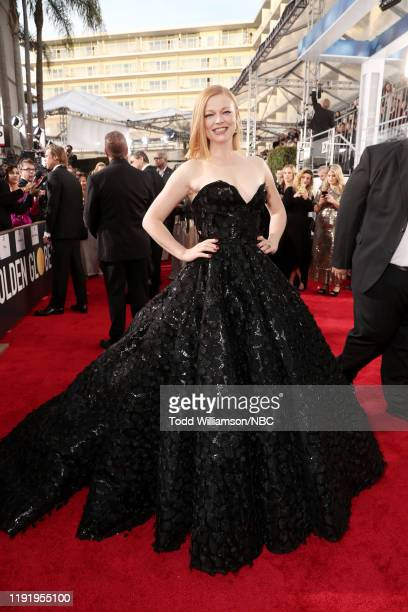 77th ANNUAL GOLDEN GLOBE AWARDS Pictured Sarah Snook arrives to the 77th Annual Golden Globe Awards held at the Beverly Hilton Hotel on January 5 2020
