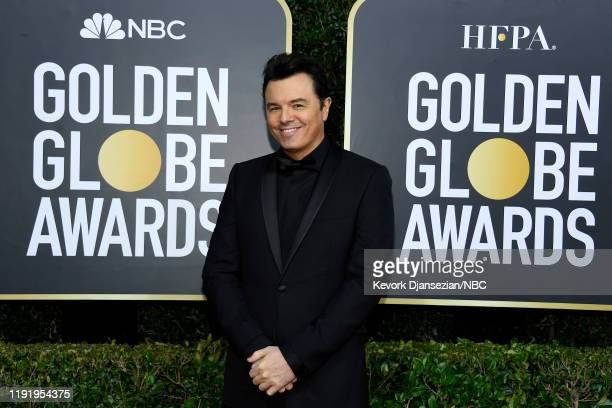 77th ANNUAL GOLDEN GLOBE AWARDS -- Pictured: Seth MacFarlane arrives to the 77th Annual Golden Globe Awards held at the Beverly Hilton Hotel on...