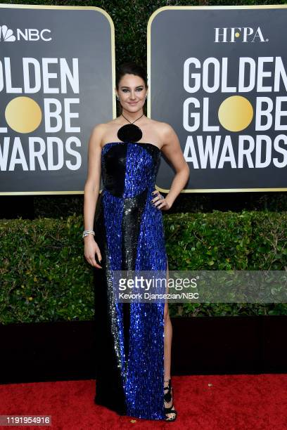 77th ANNUAL GOLDEN GLOBE AWARDS -- Pictured: Shailene Woodley arrives to the 77th Annual Golden Globe Awards held at the Beverly Hilton Hotel on...