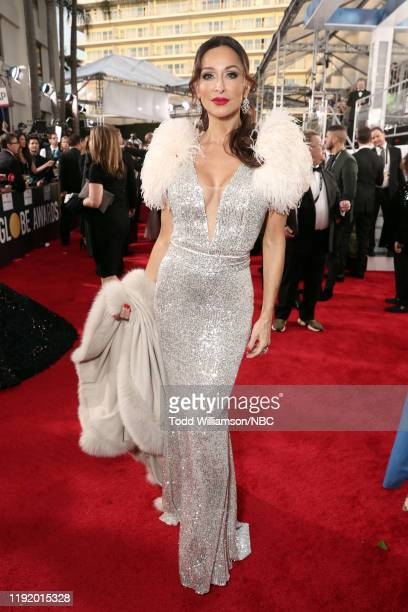 77th ANNUAL GOLDEN GLOBE AWARDS -- Pictured: Sofia Milos arrives to the 77th Annual Golden Globe Awards held at the Beverly Hilton Hotel on January...