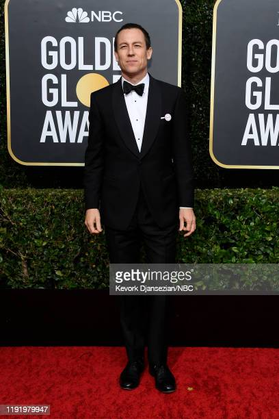 77th ANNUAL GOLDEN GLOBE AWARDS Pictured Tobias Menzies arrives to the 77th Annual Golden Globe Awards held at the Beverly Hilton Hotel on January 5...