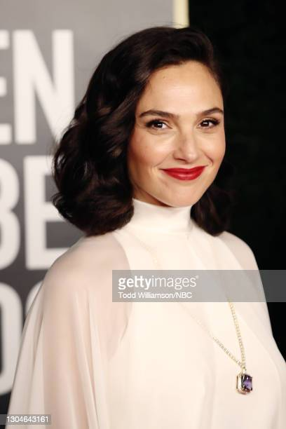 78th Annual GOLDEN GLOBE AWARDS -- Pictured: Gal Gadot attends the 78th Annual Golden Globe Awards held at The Beverly Hilton and broadcast on...