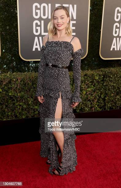 78th Annual GOLDEN GLOBE AWARDS -- Pictured in this image released on February 28, Margot Robbie attends the 78th Annual Golden Globe Awards held at...