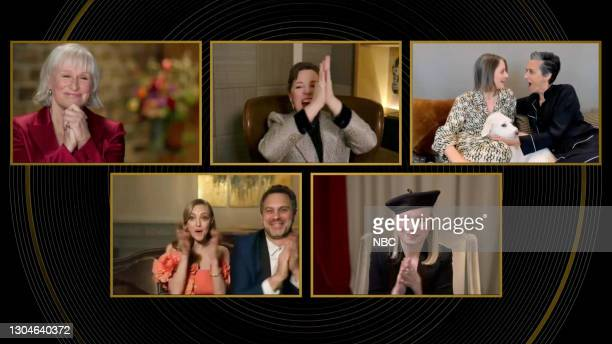 78th Annual GOLDEN GLOBE AWARDS -- Pictured in this screengrab released on February 28, Nominees for Best Actress in a Supporting Role in Any Motion...