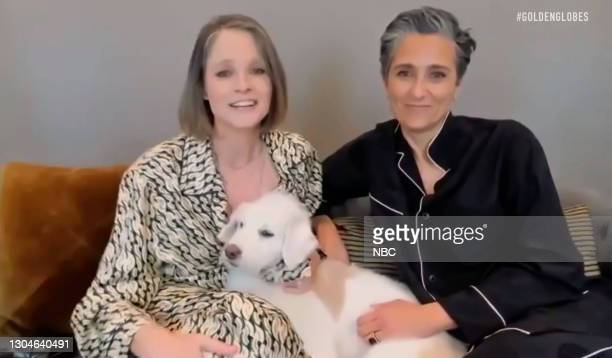 78th Annual GOLDEN GLOBE AWARDS -- Pictured in this screengrab released on February 28, Jodie Foster, winner of Best Actress in a Supporting Role in...