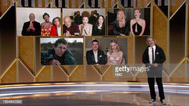 78th Annual GOLDEN GLOBE AWARDS -- Pictured in this screengrab released on February 28, Best Actress in a Motion Picture – Drama nominees Viola Davis...