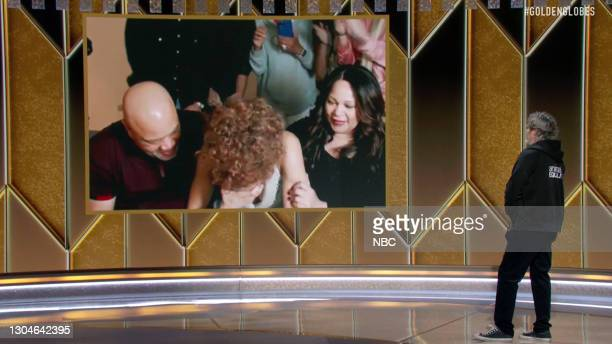 """78th Annual GOLDEN GLOBE AWARDS -- Pictured in this screengrab released on February 28, Best Actress in a Motion Picture – Drama winner for """"The..."""