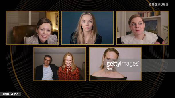 78th Annual GOLDEN GLOBE AWARDS -- Pictured in this screengrab released on February 28, Best Performance by an Actress in a Television Series – Drama...