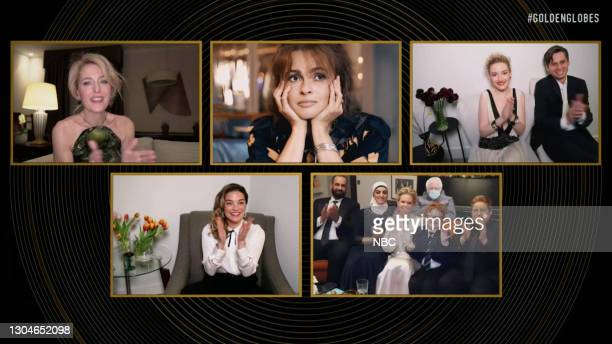 78th Annual GOLDEN GLOBE AWARDS -- Pictured in this screengrab released on February 28, ) Best Supporting Actress – Television nominees Gillian...