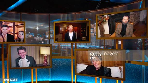 78th Annual GOLDEN GLOBE AWARDS -- Pictured in this screengrab released on February 28, Best Performance by an Actor in a Television Series – Drama...