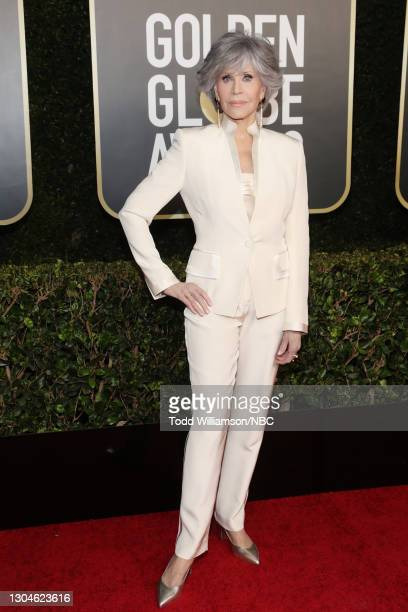 78th Annual GOLDEN GLOBE AWARDS -- Pictured: Jane Fonda attends the 78th Annual Golden Globe Awards held at The Beverly Hilton and broadcast on...