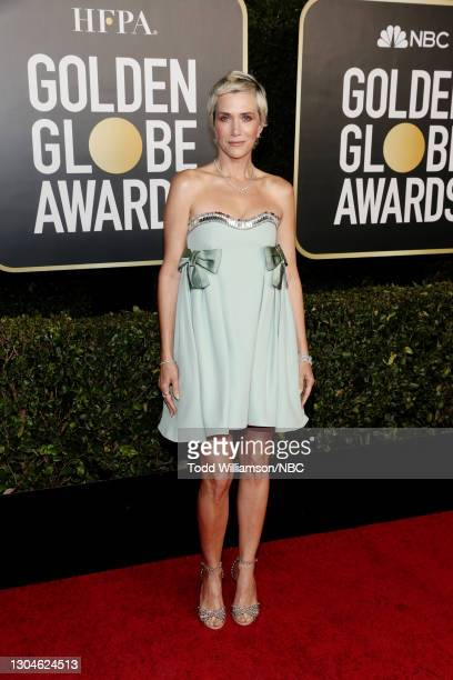 78th Annual GOLDEN GLOBE AWARDS -- Pictured: Kristen Wiig attends the 78th Annual Golden Globe Awards held at The Beverly Hilton and broadcast on...