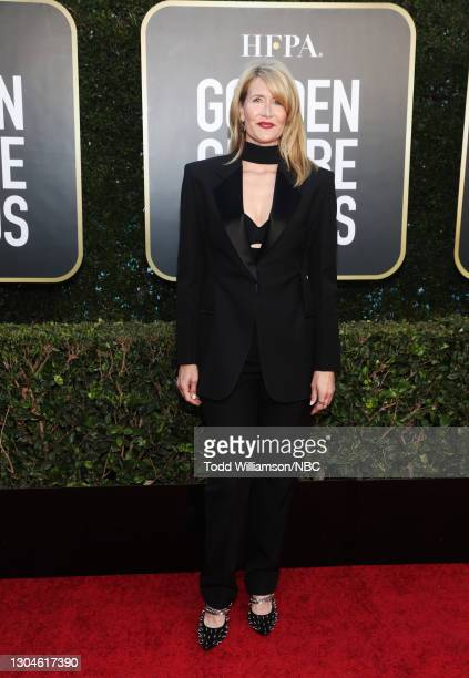 78th Annual GOLDEN GLOBE AWARDS -- Pictured: Laura Dern attends the 78th Annual Golden Globe Awards held at The Beverly Hilton and broadcast on...