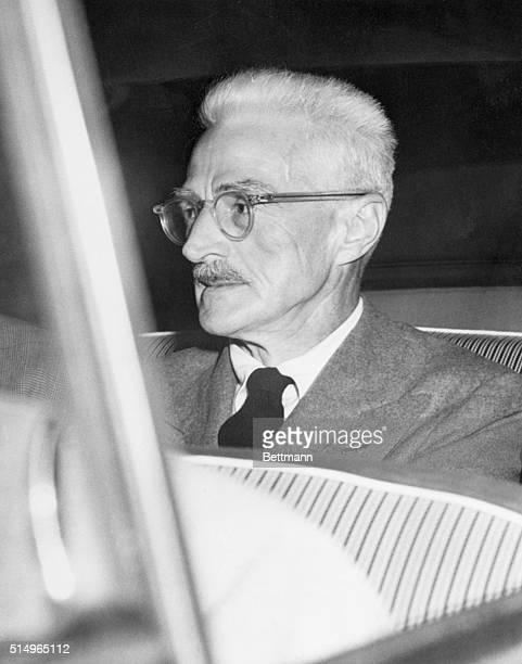 7/9/1951New York New York Dashiell Hammett mystery story writer and chairman of the Civil Rights Congress Bail Fund is shown after he was sentenced...