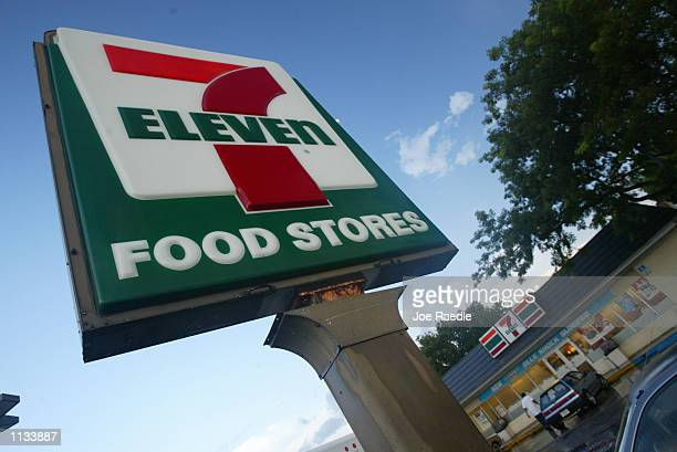 Eleven sign is seen on July 18 2002 in Pembroke Pines Florida 7Eleven Inc the premiere name and largest chain in the convenience retailing industry...