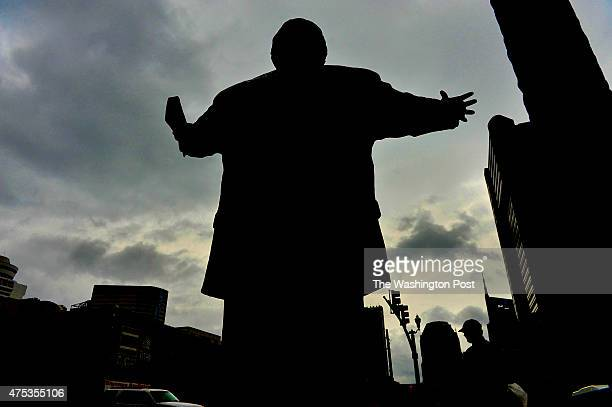 A 7foot tall statue of evangelist Billy Graham graces the front entrance to the headquarters of the Southern Baptist Convention in Nashville Graham...