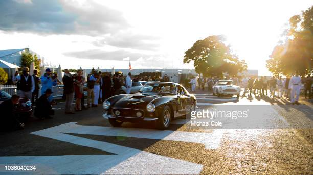 1960 Ferrari 250 GT SWB/C driven by Max Werner/Moritz Werner leaving the Assembly Area for the Kinrara Trophy race during the 20th anniversary of the...