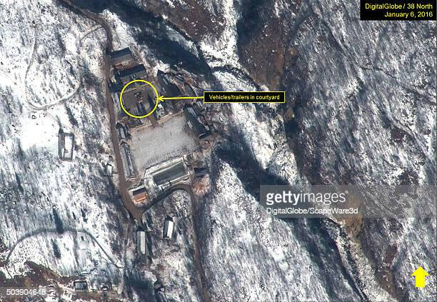 North Korean Nuclear Test Figure 8B Main Support Area on January 6 2016